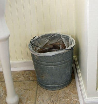 wastebaskets for bathrooms bathroom waste basket rustic crafts projects 2 pinterest