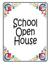 printable open house invitations school free school open house invitations