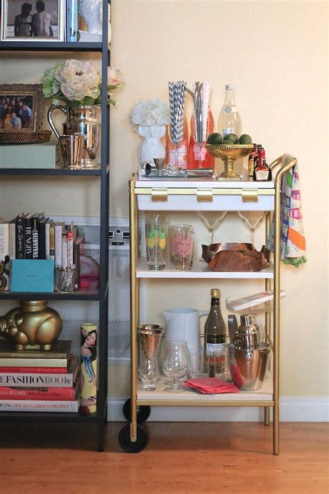 ikea bar hack ikea hack bar cart for my home
