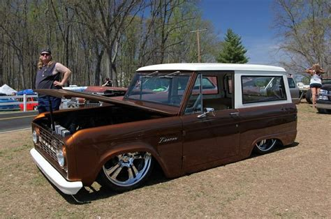 sick lowered cars sick slammed root bronco bronco