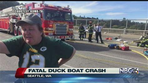 boat crash green bay green bay woman safe after fatal quot duck boat quot crash youtube