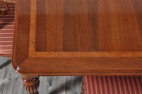 tavolo stile inglese tavolo rettangolare allungabile realizzato in stile