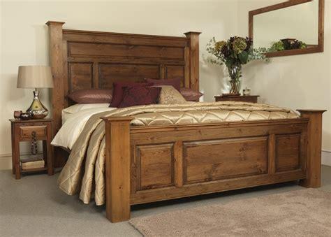 Solid Wood Bed Frame Plans