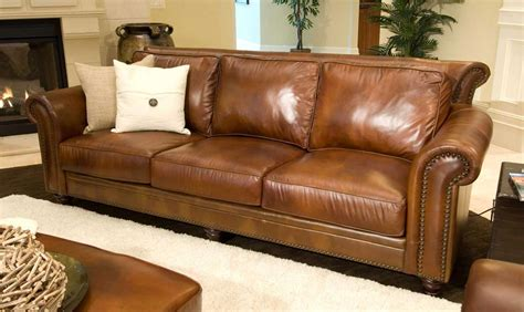 distressed leather corner sofa light brown distressed leather sofa centerfieldbar com