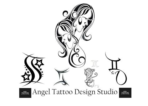gemini sleeve tattoo designs zodiac sign and designs sun sign tattoos