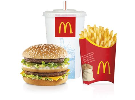 menu for large nos mcmenus mcdonald s belgique