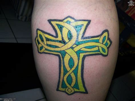 celtics tattoos celtic cross tattoos