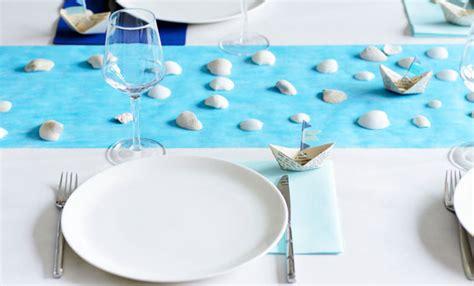 tavole di maree come apparecchiare la tavola al mare tante idee per una
