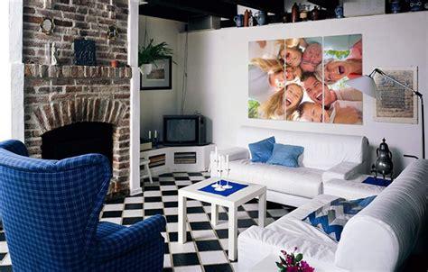 decorar varias fotos en una sola decora tus paredes con tus fotograf 237 as decoraci 243 n de