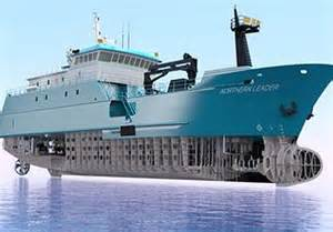 The northern leader the largest commercial fishing boat built in the