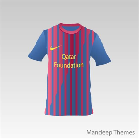 T Shirt Fc Barcelona 1 fc barcelona t shirt vector by mandeep2u on deviantart