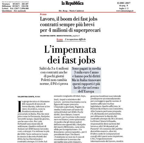 ufficio lavoro siena fast e carta dei diritti universali lavoro at