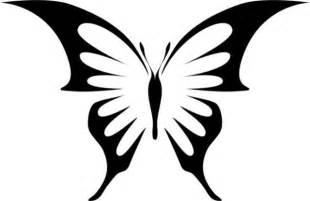Gem swallowtail butterfly stencil traditional wall