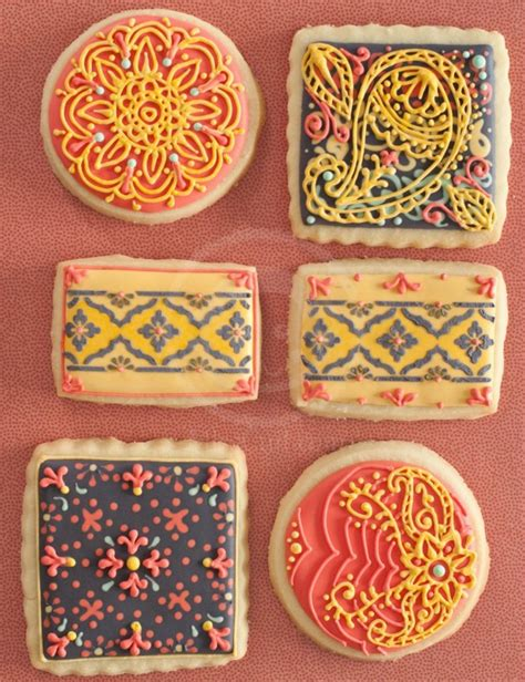 henna design biscuits 132 best images about paisley decorated cookies and cakes