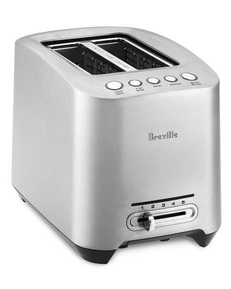 Brevelle Toaster Breville Die Cast 2 Slice Stainless Steel Smart Toaster