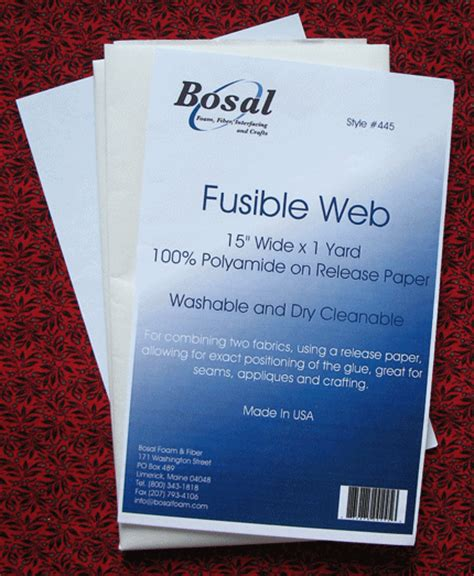 fusible web all about applique