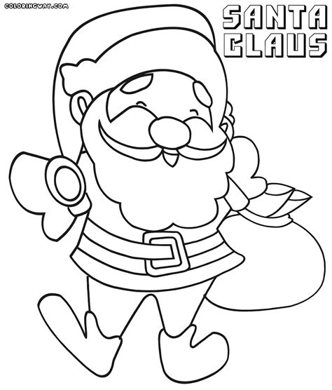 santa claus pictures to color santa claus coloring pages coloring pages to