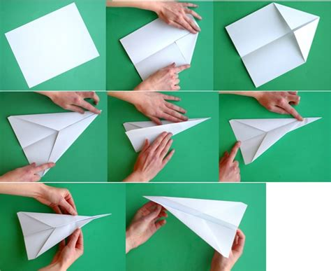 How To Make A Normal Paper Airplane - how far can a paper airplane fly wonderopolis