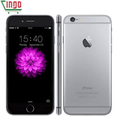 unlocked original apple iphone 6 plus iphone 6 16 64 128gb rom 1gb ram ios dual 8mp pixel