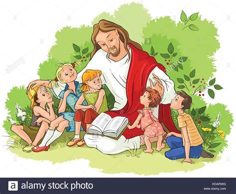 imagenes niños leyendo la biblia jes 250 s leyendo la biblia para ni 241 os christian cartoon