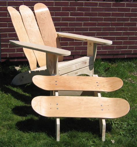 skateboard furniture skateboard inspired furniture designs