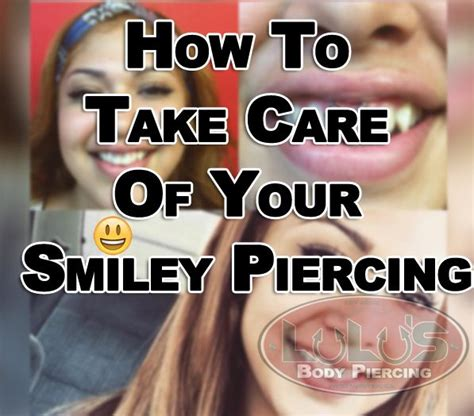 taking care of your first tattoo best 25 smiley piercing ideas on smilie