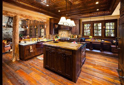 foxtail residence big sky log cabins  teton heritage