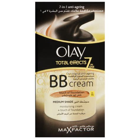 Olay Total Effect Bb olay total effects 7 in 1 bb medium 50ml clicks