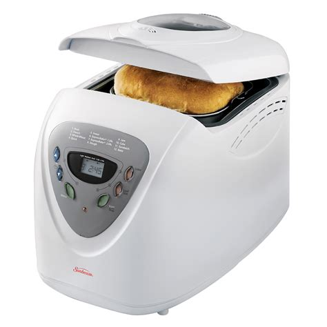 sunbeam kitchen appliances sunbeam 174 programmable bread maker