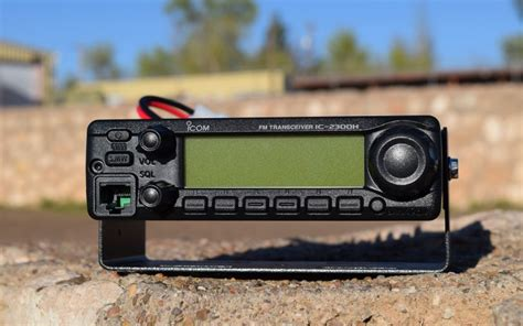 Icom 2300h by Icom Ic 2300h Function Meets Form Artech
