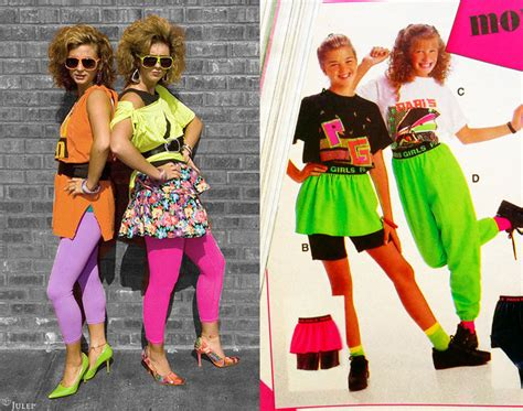 fashion trends of the 80 s 80 s totally