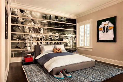 sports bedroom decor rooms for boys guys sport teenage bedroom theme room ideas