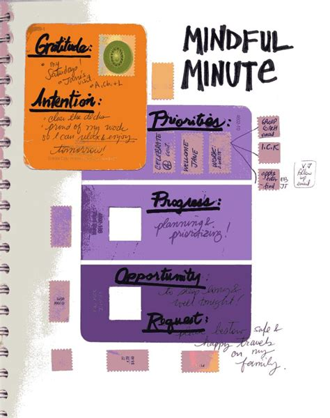 the mindful journal seven minutes a day for a better more meaningful books my creative spark mindful minute