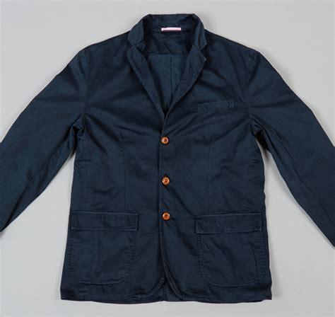 S X Supply Co Brand standard issue civilian blazer navy hickoree s
