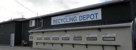 waste depot recycling depot town of edson