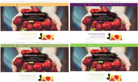 joomla template organic food et fruit free responsive organic food joomla template