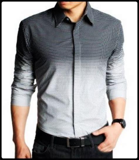 kumpulan model kemeja pria untuk kerja ala korea trend