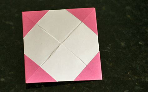 Photo Frame Origami - simple origami picture frames make and takes