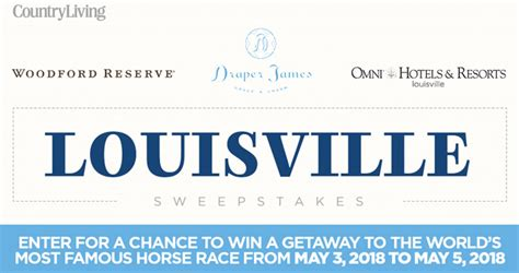 country living sweepstakes country living louisville sweepstakes