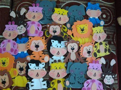 figuras geometricas en foami figuras de foami animales de la selva safari bs 30