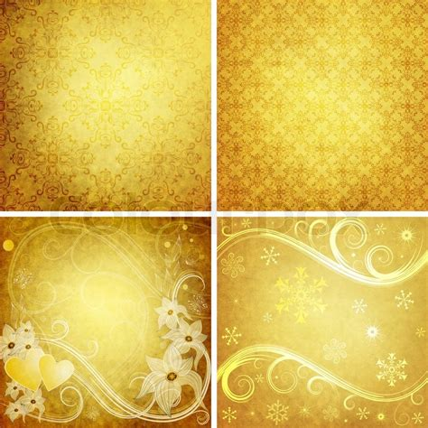 yellow design set yellow grunge paper for design stock photo colourbox