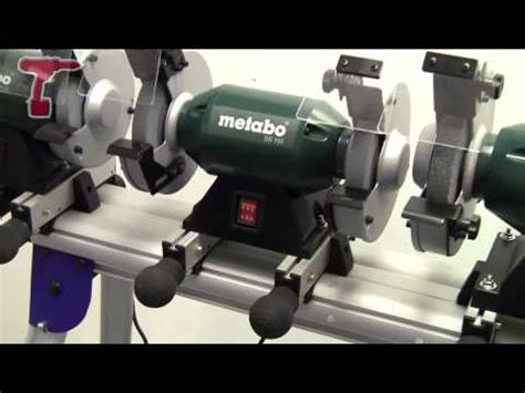 metabo ds 200 8 inch bench grinder overview of metabo s bench grinders youtube