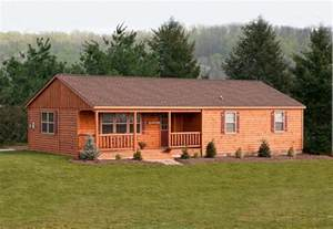 ranch log home floor plans