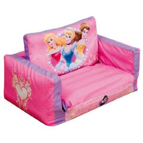 princess flip out sofa disney princess sofa beds