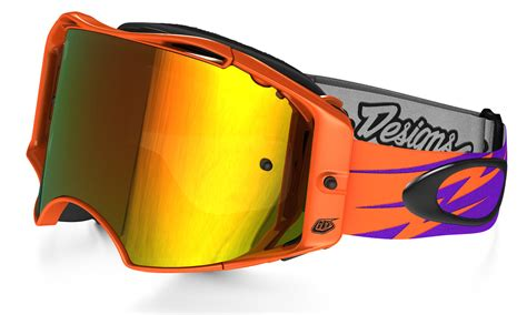 goggle motocross oakley x troy lee designs collaboration stays bright 6