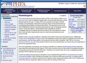 Time Home Buyer Programs In Pa by Pennsylvania Time Home Buyer Grants