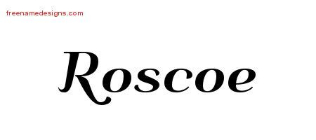 roscoe name roscoe archives free name designs