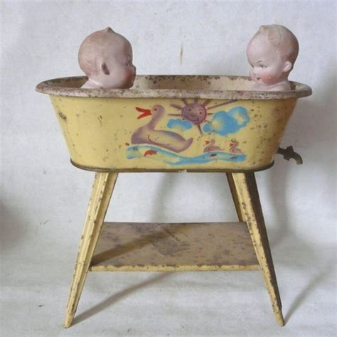 vintage baby bathtub 1000 images about baby dolls antique and vintage on