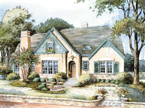 cottage house plans one story french country cottage english country cottage house plans