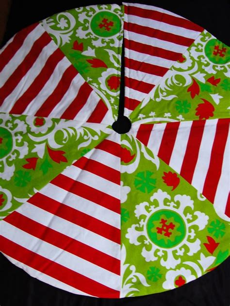 personalized whimsical christmas tree skirt